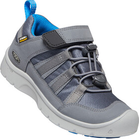 Keen Hikeport 2 Low WP Zapatillas Niños, steel grey/brilliant blue